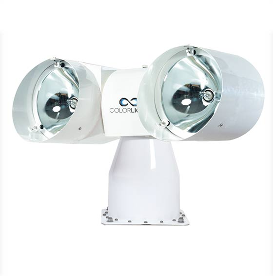 Colorlight CL20 halogen marine searchlight