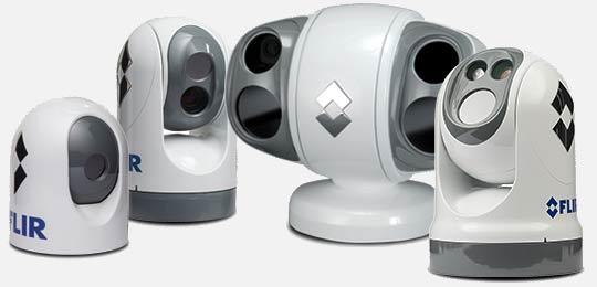 FLIR maritime fixed mihnt thermal imaging cameras