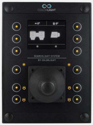 colorlight searchlight remote panel