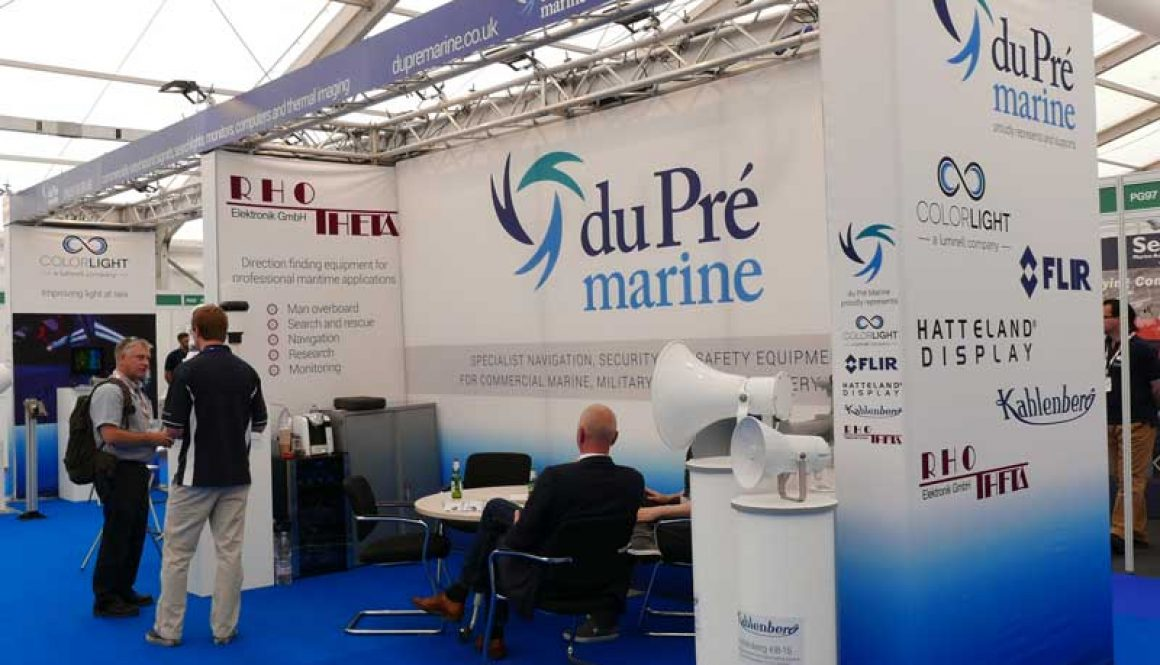 du Pré Marine at Seawork 2017