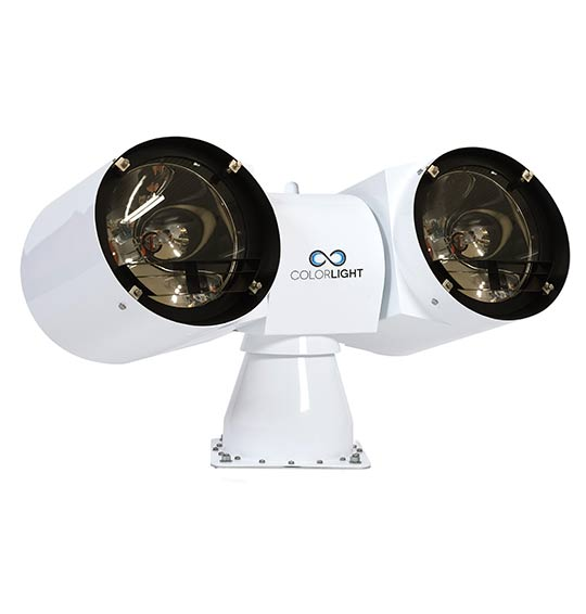Colorlight CL38 HID marine searchlight