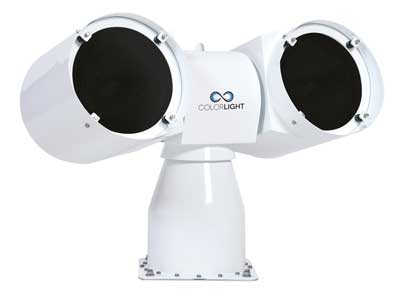 ColorLight CL25-22 searchlight with twin UV light sources