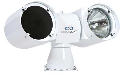 ColorLight CL35-12 searchlight with HMI and UV light sources