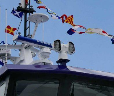 Colorlight CLITE 2 on the Icon Legend wind farm support vessel