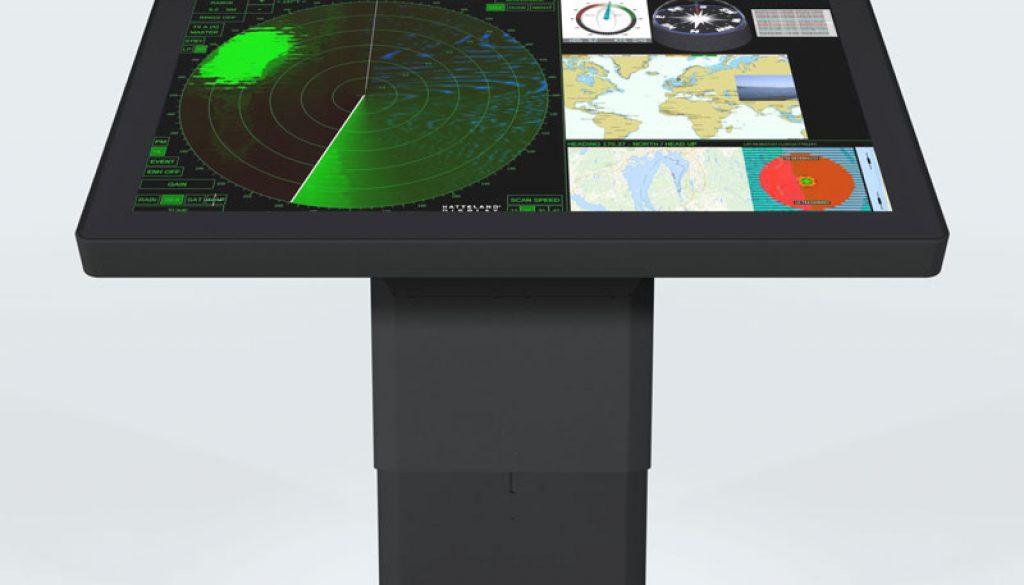 hatteland 4k ecdis 55in series x monitor