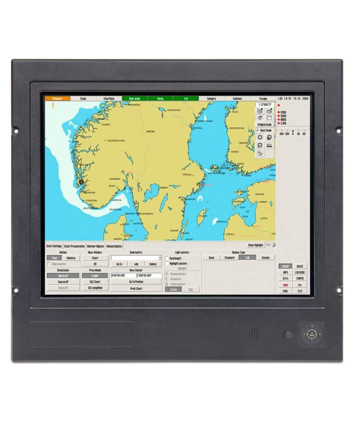 Hatteland Display Series 1 type approved monitor