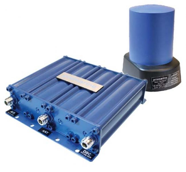 Promarine antennas, combiners and splitters